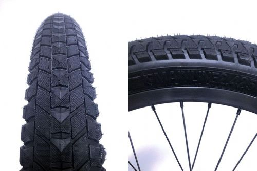 "S&M 22"" Mainline Tyre 2.425"" Black Wall"